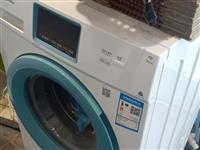 美的滚筒洗衣机,九成新,一级能效