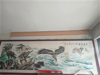 大展鸿图画,王增祥。长三米三