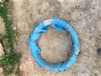 钢线    猕猴桃架线  百香果架线   未拆封使用    线径2.2   重量100斤/捆   原...