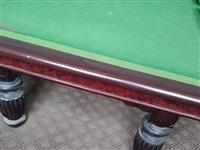 大理石台球桌处理了15670001688