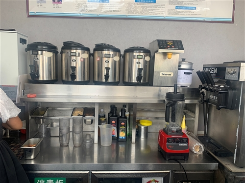 9.9成新奶茶机全套设备低价处理