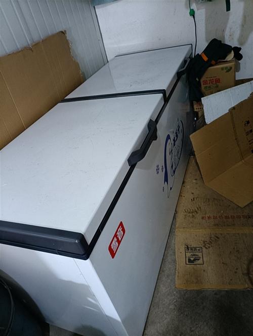 九九新全铜,两米商用大冰柜,冷冻冷藏一键切换。