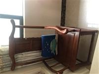 玉林富安居买的真正红木茶桌茶椅(刺猬紫檀),雕花精美、木质老、抛光完美、造型美观。因为都没用过,简直...
