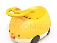 ??95新贝能(Baoneo)小萌鸡造型儿童马桶坐便器,适合一岁左右正在戒尿布的宝宝,引导宝宝自主上...