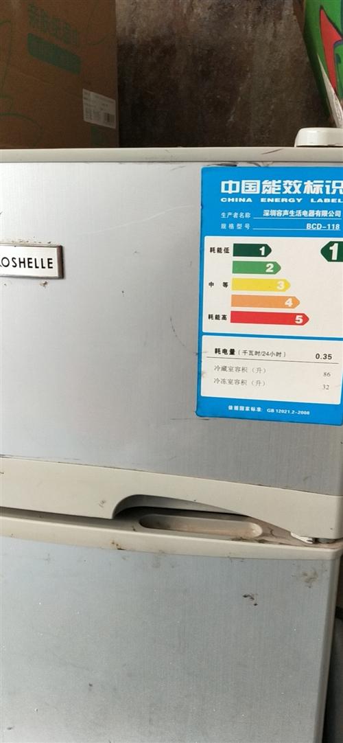 容声1级节能小冰箱桐城双港镇内出售,非诚勿扰!