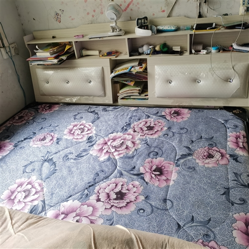 大床,2018年买的,带两个床头柜。小床1.2米,1.5米各一张,因搬家带不走,现低价处理,非诚勿扰...