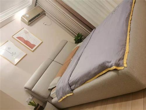 全友家居新购买的卧室舒适床转卖