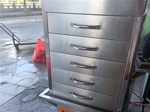 五层用电包子机,买来一个月左右,买了1380,便宜卖,700,