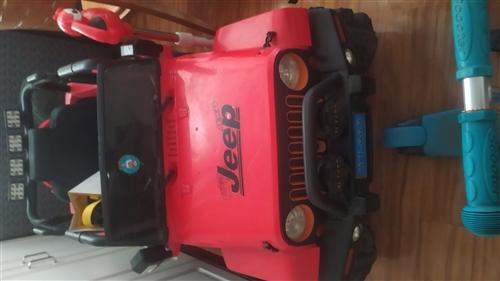 儿童电动车,九成新,自己又多加装一块电池,本人还有推车,婴儿床,有需要的联系我,价格便宜!