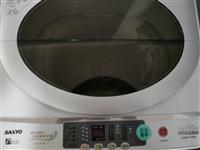 三洋全自动洗衣机九成新,用过几回。自取地点楞严寺小区