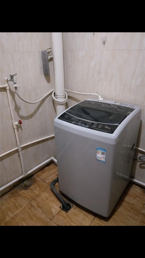美的全自动洗衣机,8.0公斤,自己家里使用,一年时间,性能都完好,由于搬家不便,现在低价处理