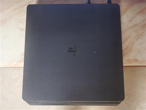 【二手95新】索尼(SONY)PS4游戏主机Slim型500G 黑色 主机+双手柄,系统**,已备份...