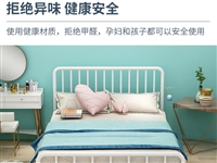 铁艺床单人床双人床,**未拆封,买多了一张,亏本出,在家占地方,**,仅支持上门自提。诚心要180元...