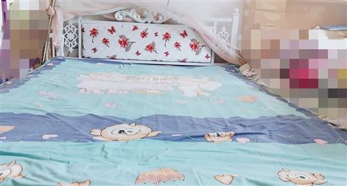 1.5米铁床,9.9成新,低价急售。