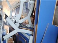 几乎**的会议椅子,培训椅子,两个一组或三个一组,由于灯光灰暗拍照效果不好,实物佳,现用不上处理了,...