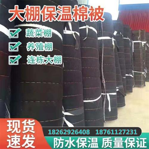 大棚保溫棉被防雪防凍防雨淋廠價直銷18262926408