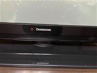長虹液晶電視 54寸, 八成新 。