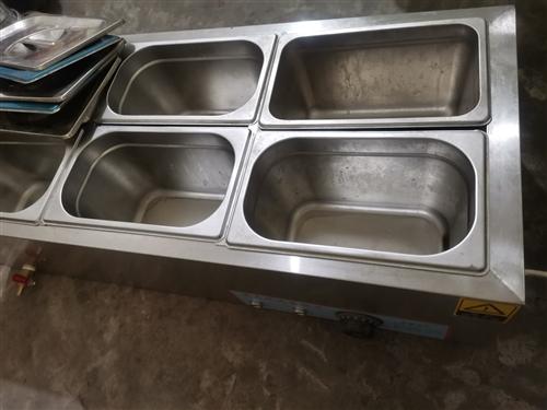 小型保温台六盆,使用过两个月,用于稀饭、炒菜、臊子的加热和保温,温度可调恒温30到100度,缺水保护...