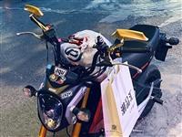 出售一台自用小猴子摩托车 125cc 车子相当好 刚换的电瓶 ***自用 不存在偷盗 感兴趣的联系我