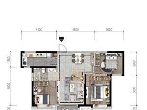 �m州新�^金��府3室 2�d 1�l58�f元