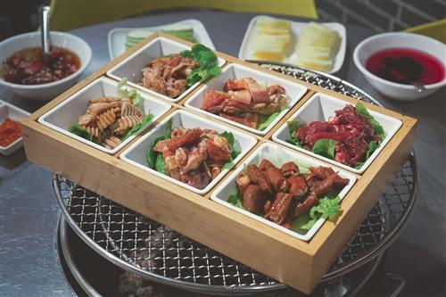 榕江大竹签烤肉推出59.9元抢原价188元烧烤套餐!甜品无限敞饮!超值超好吃!