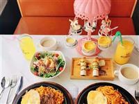 【9.17美食节】78元抢购威尚西餐铁板牛排原价175元的牛排套餐