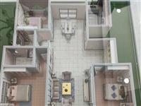 金寨一中旁无需过户总高7层洋房6楼边户126平方3室2厅2卫74.8万元
