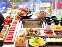 39元抢【小吙记火锅】三荤三素(毛肚+鸿运滚滚+鸭血+生菜+手工面+白萝卜)+几十种自助免费品尝!