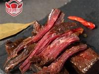 广安邻水特产牛肉干160g香酥、芝麻正宗牛肉袋装大块牛肉肉类零食即食