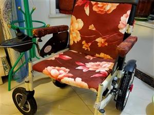 老年人折疊式電動輪椅  轉讓