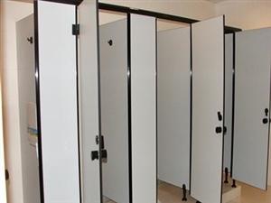 卫生间隔间(隔断)安装