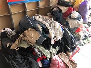 回收旧衣服,鞋,包