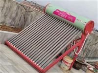 太阳能热水器,用了小半年,二十根加热管,300斤水容量,