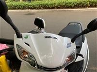 出售自用本田睿御摩托车,6个月骑了3000公里,证件齐全可过户,原价12800。有需要的直接打电话
