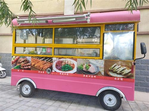 出租出售一辆新型烧烤车,包教技术,有意者欢迎来电咨询!!
