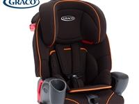 graco葛莱儿童汽车安全座椅3C认证9个月-1… 颜色分类鹦鹉螺橙色条纹。**,未用。