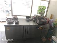 冷藏工作台冰柜商用冰箱奶茶冷冻冷柜操作台冷藏柜厨房保鲜平冷柜1.8米