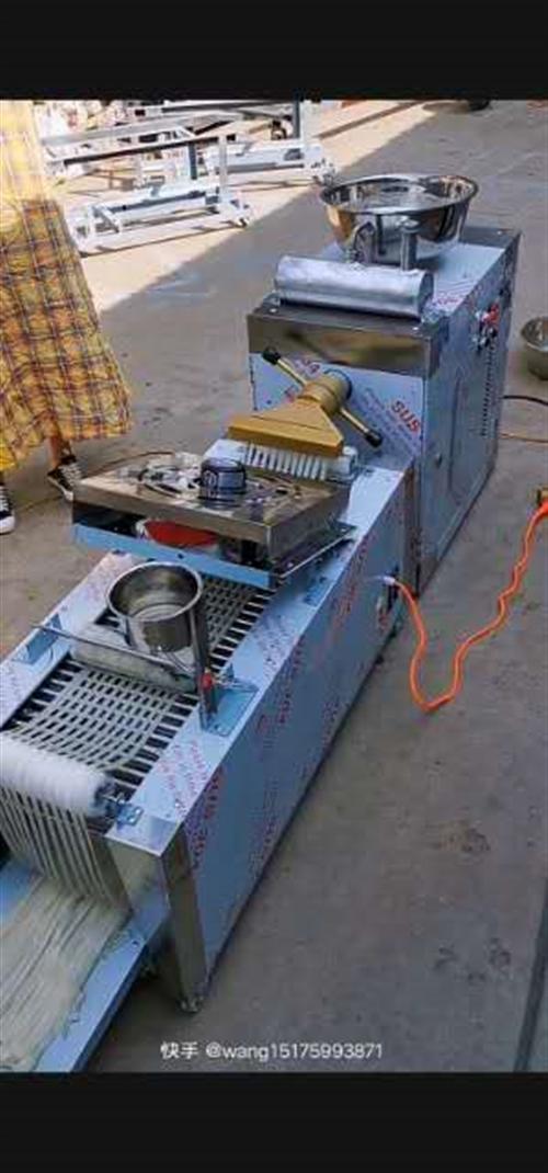 全自动酿皮机,一次成熟,操作简单,有意者可交技术。1电带的。还有25公斤洗面机一台。便宜出。联系电话...