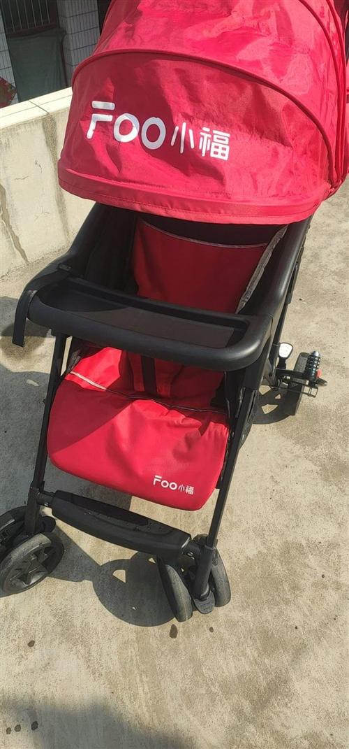 小福婴儿手推车买下用了几个月,八九成新,质量非常好,有需要的便宜处理,买的时候200多,现140元,...
