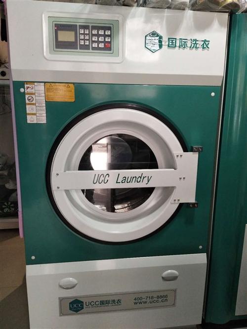20年1月开业,9成新洗衣机器低价转让,双杠干洗机,烘干机,半自动洗衣机,烫台,包装机,消毒柜等
