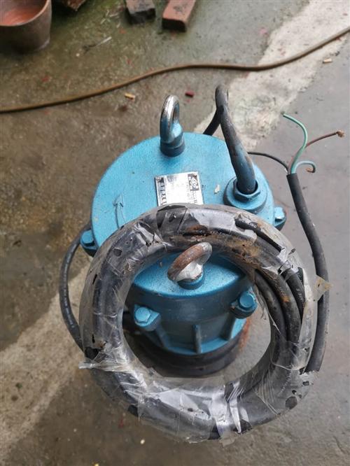 WQ潜水泵  65WQ30-40-7.5排污泵 之前从工地上拉回来的,一直都闲置了,没有用,所以这...