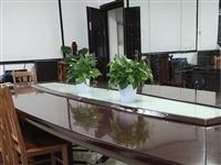 由于会所升级需装修,此豪华桌出售[玫瑰] 规格:长5米宽1.6米[握手][玫瑰]