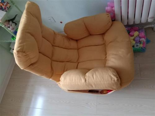 九成新,懒人沙发,靠背可以折叠。