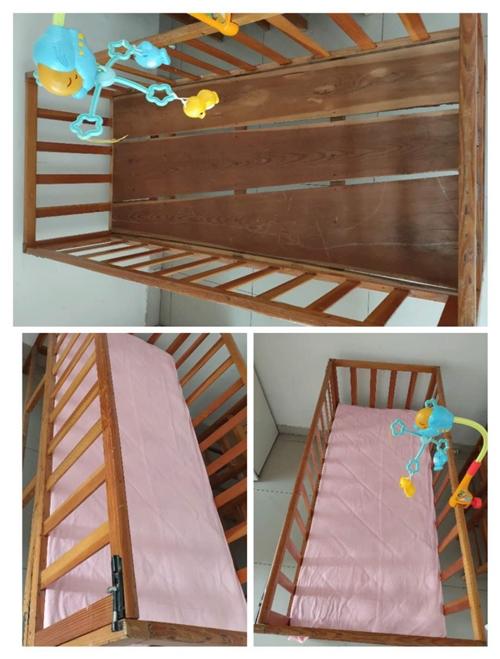 出售,婴儿床,可睡到五岁左右!