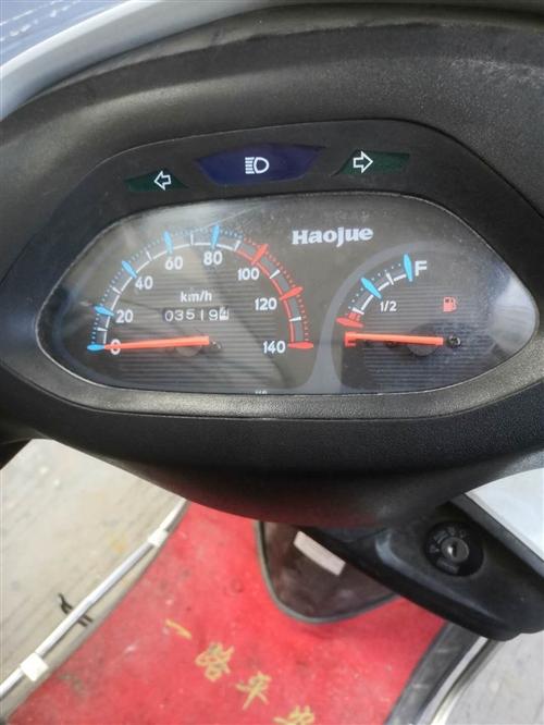 一九成新豪爵摩托车,不经常骑,现低价处理,有需要的电联。,非诚勿扰,谢谢!