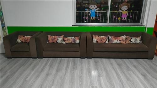1/2/3组合沙发 材质:布艺 9层新