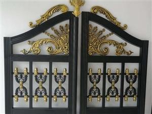 铝艺铁艺庭院门护栏扶手制作安装
