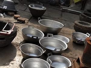 专业倒铝锅。
