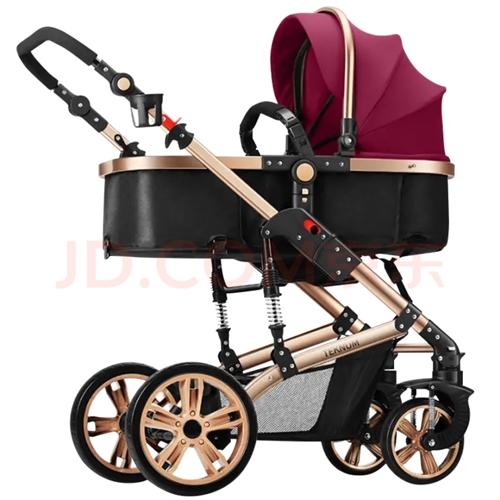 TEKNUM 正品,英国,**婴儿推车,高景婴儿推车双向可折叠,坐躺两用,自用处理,95新,疫情期间...