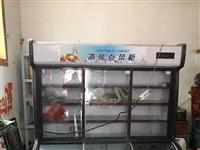 因房租到期超市不干了,現轉讓九成九新點菜柜,上面保鮮下面冷凍。